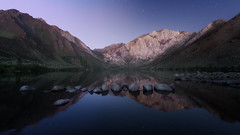 Daybreak (David Colombo Photography) Tags: convictlake sunrise sierranevada mountains lake water rocks sky mountain alpine nikon d800 davidcolombo davidcolombophotography landscape