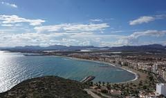 guilas desde el Castillo de San Juan de las guilas (Sebasti Giralt) Tags: guilas murcia mar sea