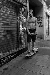 _DSF3052 (Antonio Balsera) Tags: bw bn lavapies gente skater madrid comunidaddemadrid espaa es