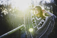 Golden Winter (nikonfotoguy) Tags: portrt portrait gold light sun sunset woman shooting people germany aachen merkstein 18 50mm mm 50 nikon coming is winter