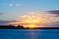 Sunrise at Embsay Reservoir (andythomas390) Tags: sunrise sun clouds reservoir embsay yorkshiredales yorkshire le nikon d7000 18200mm big stopper