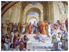 Raffaello - Scuola di Atene - Musei Vaticani, Citt del Vaticano (LordAri) Tags: raffaello scuola di atene musei vaticani roma italia romaemadonna