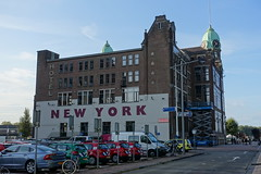 Hotel New York @ Wilhelminapier @ Kop van Zuid @ Rotterdam (*_*) Tags: rotterdam netherlands nederland europe city october 2016 autumn fall automne kopvanzuid island wilhelminapier hotel newyork hollandamericaline lijn