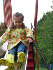 Robyn on theSlide (Peter Ashton aka peamasher) Tags: child children grandchild grandchildren granddaughter robyn