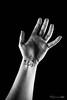 40/52 - Slap On the Wrist (Forty-9) Tags: softbox efs1785mmf456isusm wrist project522016 week40 2016 yongnuospeedliteyn560iv photr 522016 blackandwhite strobist bw yongnuo lightroom canon strobism studio slaponthewrist efslens eos60d 4052 slap writing 52 flash project52 playonwords