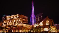 Ferris Wheel in Yokohama Night Scene (aotaro) Tags: minatomirai ferriswheel rightbeside yokohama cosmoclock ilce7m2 minoltaaf2485mmf35f45