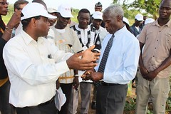 Feed the Future Sustainable Intensification Innovation Lab (SIIL) project in Burkina Faso