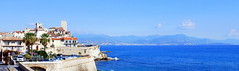 Antibes, lookin east across the Baie des Anges towards Nice. (Roly-sisaphus) Tags: antibes southoffrance frenchriviera cotedazure nikond802016dsc1106