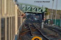 Departing Limerick, 22/10/16 (hurricanemk1c) Tags: rpsi westernexplorer 1705limerickconnolly limerick railways railway train trains irish rail irishrail iarnrd ireann iarnrdireann 2016 railwaypreservationsocietyofireland craven