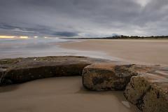 Rock Enclosure (melissaclarke1) Tags: crowdy head rocks beach sunset
