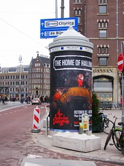 The Home Of Halloween (streamer020nl) Tags: halloween peperbus dam rokin dungeon poster plakat affiche trick treat