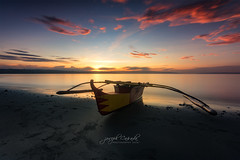 A G D A O ' S _ F I N E S T (Joseph Caada) Tags: sunrise sunrisephotography filipinophotographer filipinolandscapephotographer landscape landscapephotography seascape goldenhour orton clouds colors boat canon eos canoneos760d benro firecrest sigma davaocity philippines mindanao ngc longexposure flickrunitedaward