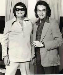 Neil Diamond & Roy Orbison (musicloverdiamond) Tags: neildiamond royorbison 1976