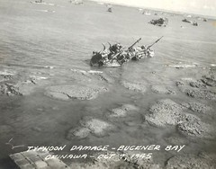 #Typhoon Damage -- Buckner Bay Okinawa -- October 9, 1945 [1320x1036] [OS] #history #retro #vintage #dh #HistoryPorn http://ift.tt/2gasw2R (Histolines) Tags: histolines history timeline retro vinatage typhoon damage buckner bay okinawa october 9 1945 1320x1036 os vintage dh historyporn httpifttt2gasw2r