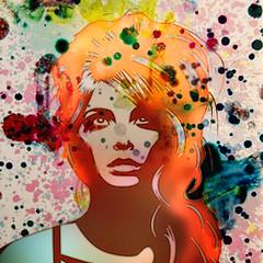The redheaded woman (jaci XIII) Tags: mulher ruiva loira busto pessoa redhead woman blonde bust person