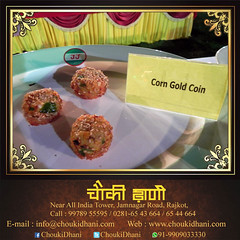 Food   Vegetable Food   Corn Gold Coin   Indian Food (ChoukiDhani) Tags: food foodlover dish corngoldcoin delicious tasty nutritious balanced bliss vegetable resort hotel motel restaurant rejoice