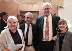 Lois Hely, Mike Saladik, Jim Hely and Kare Saladik
