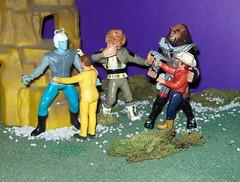 Trek Homage 6 (Jake Prescott) Tags: startrek andorian klingon ferengi decker actionfigures