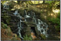 0046 Waterfall,03 15x10 (mikeinfleet) Tags: virginiawater surrey waterfall falls water
