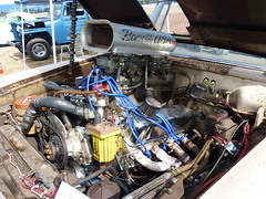 1962 Stude Gasser (bballchico) Tags: 1962 studebaker daytona gasser dragcar racecar ownercjay arlingtoncarshow carshow 1960s engine 206 washingtonstate arlingtonwashington