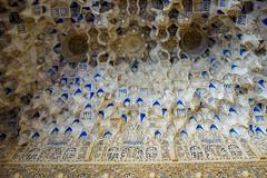 Palacio Nazaries ceiling (Samir Rorless) Tags: sony pentax smc takumar 28mm f35 andalusia alhambra a6000 granada