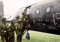 """#D-Day glider graffiti """"The channel stopped you but not us"""" June 6th 1944 [1366972] #history #retro #vintage #dh #HistoryPorn http://ift.tt/2fUXEye (Histolines) Tags: histolines history timeline retro vinatage dday glider graffiti thechannelstoppedyoubutnotus june 6th 1944 1366972 vintage dh historyporn httpifttt2fuxeye"""