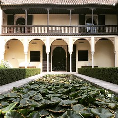 Casa del Chapiz (Juan J. Mrquez (de vuelta a la batalla)) Tags: casadelchapiz granada color andaluca arquitectura moriscos caminodelsacromonte alberca albaicin