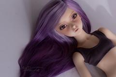 Liria relaxing :) (J&C entangled) Tags: minifee liria mod purple lavender wig surialpaca makoeyes am004