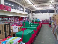 Preparing for Christmas (Timothy Pitonyak) Tags: kmart trenton newjersey retail holiday gardenshop merchandise christmas hardlines