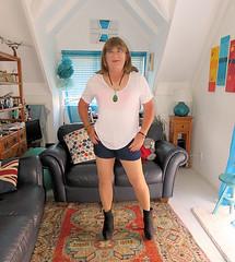 Boots (Trixy Deans) Tags: crossdresser cd cute crossdressing crossdress classy corset shorts heels xdresser sexy sexyheels sexylegs sexyblonde tgirl tv transgendered transvestite tranny trixydeans tgirls transvesite