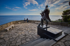 Statue of Prince Albert 1,St. Martin Gardens, Monaco (sourted) Tags: monaco europe st martin gardens statue prince albert 1 mediterranean sea