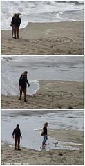 Proposal? (walkerross42) Tags: proposal heart roses flowers couple love ocean sand beach cliffs wave bandon oregon