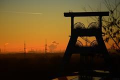 heutiger Sonnenuntergang Ruhrgebiet 1 (Gabi FK) Tags: sonnenuntergang zechen