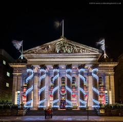 It's that time of the Year (Damon Finlay) Tags: nikon d750 nikond750 long exposure longexposure nightphotography landscape cityscape architecture edinburgh scotland nikkor 1635mm f4 nikkor1635mmf4 the dome thedome christmas decoration christmasdecoration