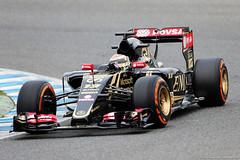Lotus E23 Hybrid (2015) (Zero 935) Tags: formel1 formel f1 formula1 one jerez spain february monday 0220222015 action track