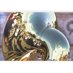Welcoming Hermione (horstmall) Tags: music port vacances boat holidays ship harbour urlaub homecoming sail musik musicalinstrument tuba bateau hafen brass ferien schiff segelschiff musique rochefort blasmusik musikinstrument charentemaritime blaskapelle voiles poitoucharentes militrkapelle lhermione horstmall