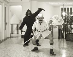 Gorilla Hunt (Craig Owens - Photographer) Tags: california hotel gorilla hunting haunted culvercity culverhotel craigowens bizarrelosangeles sadhillarchive chrisjorie