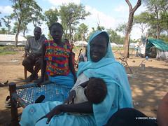 south sudan_widow oumi with her children (( Voice Nature. )) Tags: africa women southsudan photoset sudaneserefugees