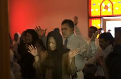 Pentecostal congregation in Santa Barbara, California