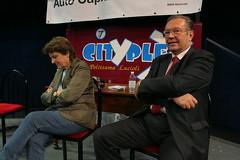I registi Liliana Cavani e Krzystzof Zanussi