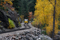 San Juan Symphony (CDeahr23) Tags: railroad fall colors colorado traintracks co sanjuanmountains dsng durangoco silvertonco durangoandsilvertonnarrowguagerailroad