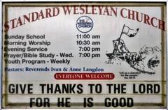 Standard Wesleyan Church (Will S.) Tags: ontario canada church sign flag churches christian christianity methodist standard methodism mypics protestant wesleyan protestantism napanee