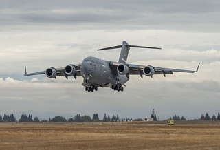 USAF C-17 Globemaster III 'Spirit of Solano' during the California Capital Airshow