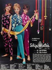 Ship Mates 1961 (barbiescanner) Tags: ritaegan sandybrown shipmates vintageads vintagefashion 60sfashion 1960s 1961 seventeen vintageseventeen