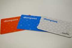 TransLink Compass Card (GoToVan) Tags: bus vancouver pass ticket transportation skytrain translink fare compass seabus