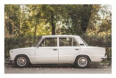 Lada 1200S (tibordavid) Tags: autumn white classic vintage retro chrome lada 1200s