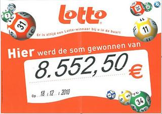 lotto - €8.552,50
