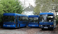 Tantivy 203 & 206 (Coco the Jerzee Busman) Tags: uk blue bus islands coach jersey channel tantivy