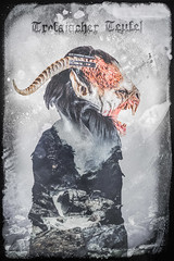 Trofaiacher Teufel (alexanderkoch) Tags: portrait photoshop shoot mask folk traditional devil maske krampus composing grampus teufel stberl trofaiach folkmask