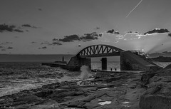 The Valletta Breakwater,,,, (Owen Piscopo) Tags: bw seascape sunrise nikon malta l breakwater valletta nikon2470f28 nikond750 owenpiscopo